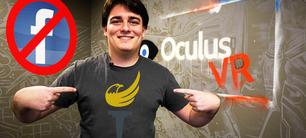 Oculus-grundaren Palmer Luckey förnekar Trump-sympatier