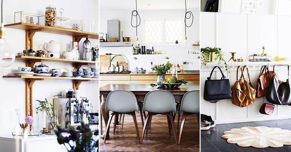 Veckans hem: En mix av olika stilar i funkishuset