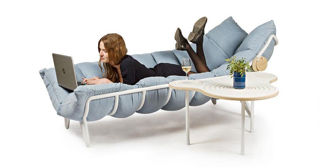 Här är soffan som håller dig varm i höstrusket