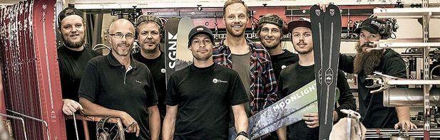 Åre Skidfabrik tillverkar åt tre norska skidmärken
