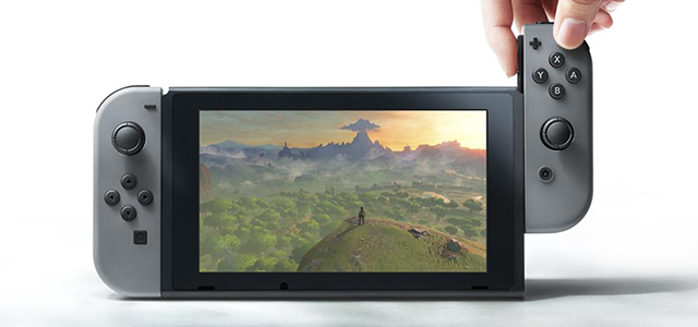 Här är Nintendo Switch