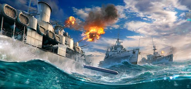World of Warships - ta en gratisbonus!
