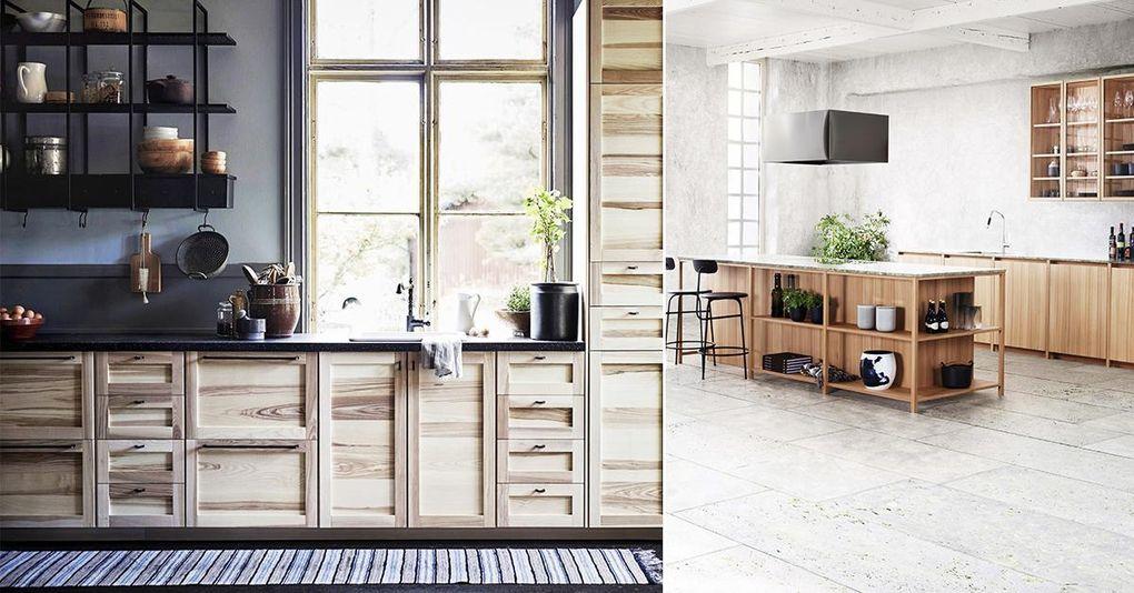 5 nya kök för dig som älskar tidlöst trä – Hus & Hem