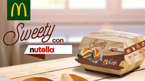 OMG! Du måste se den här Nutella-burgaren från McDonald's!