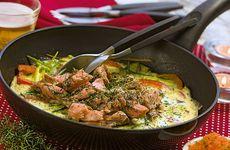 Gott med lax och kyckling i veckans meny!