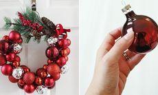 Här är den billigaste och lättaste kransen du kan göra själv inför jul