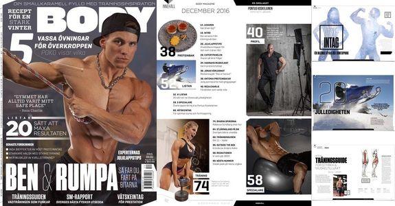 BODYs decemberutgåva har släppts