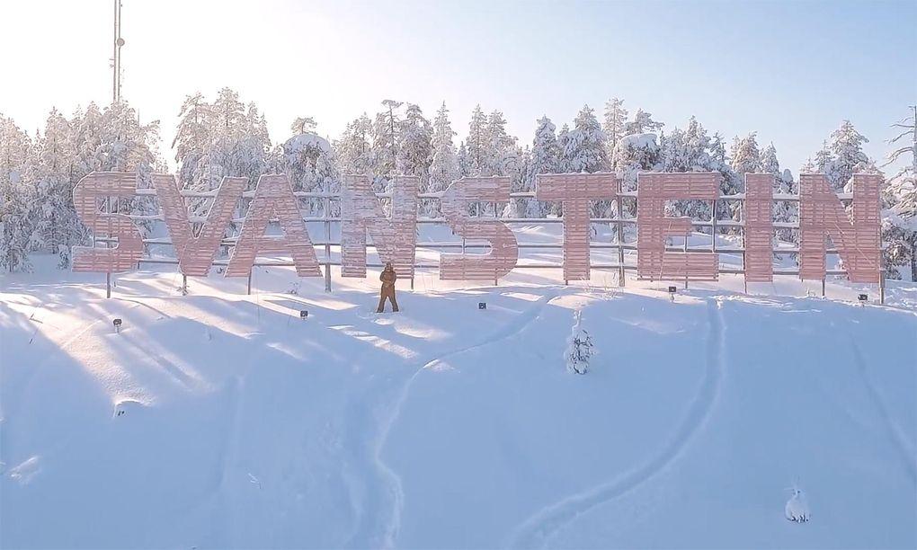 Har Svanstein Sveriges bästa skogsåkning?