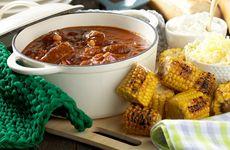Värmande chili con carne och nutellabrownies till helgen