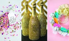 12 fina gör det själv-projekt för en extra festlig nyårsafton
