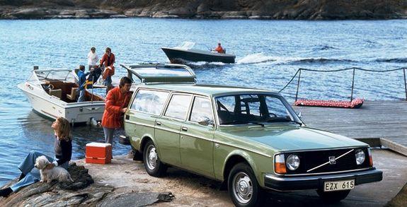 Volvo 245: Växellåda