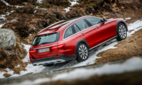 Mercedes E-Klass All-Terrain utmanar V90 Cross Country