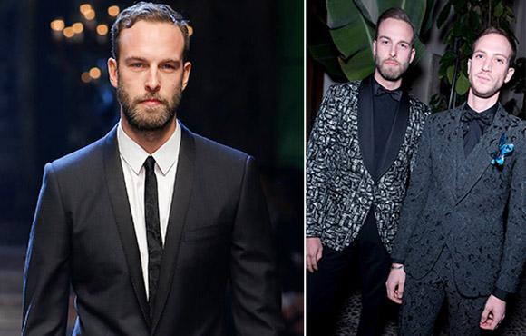 Kings stilredaktör modell för Dolce & Gabbana