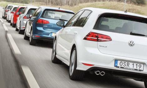 Lista: Populäraste bilarna i Europa
