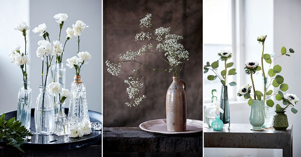 dekorera med blommor