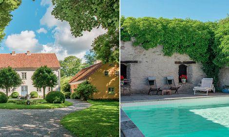 Max von Sydows vackra gamla Gotlandsgård är till salu