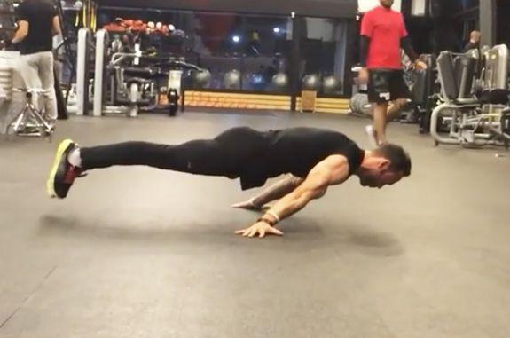 Se klippet: Annorlunda träningsinspiration för en trött måndag