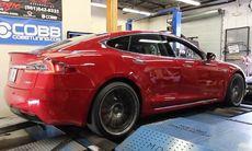 Nytt test: Så imponerande stark är Tesla Model S P100D