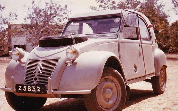 Citroën för öknen