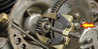 Slirande koppling på JB mopedmotor