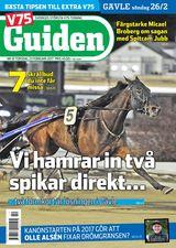 V75 Guiden nr 10, 2017