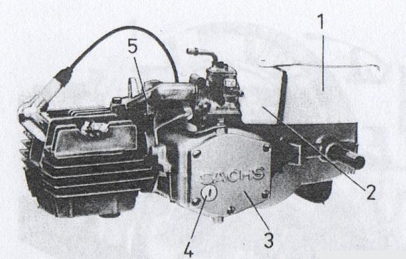 Växellådsolja till DBS Handy med sachsmotor