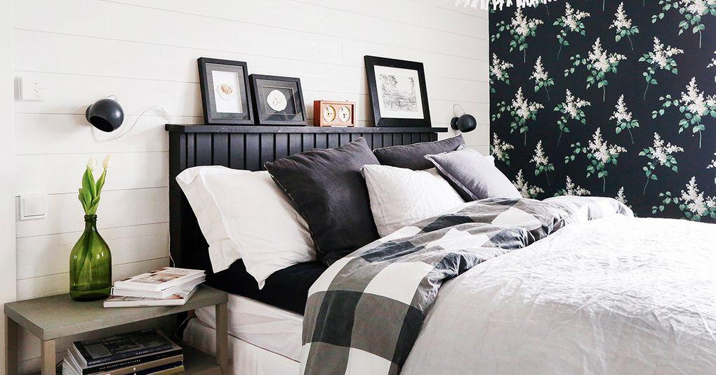 Veckans bästa DIY Gör din egen maffiga sänggavel Hus& Hem