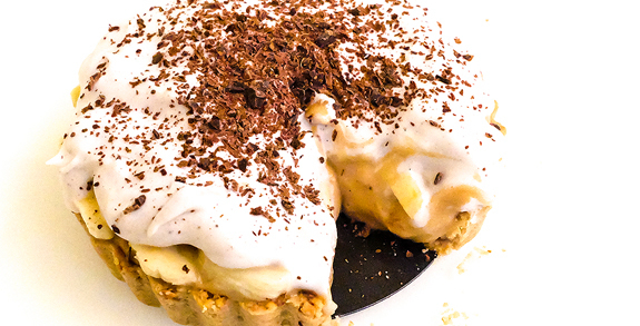 Recept: Mini banoffee pie
