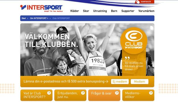 Club Intersport blir mobil