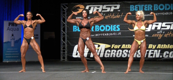 Video från LP 2013: Bodybuilding Damer +55 kg