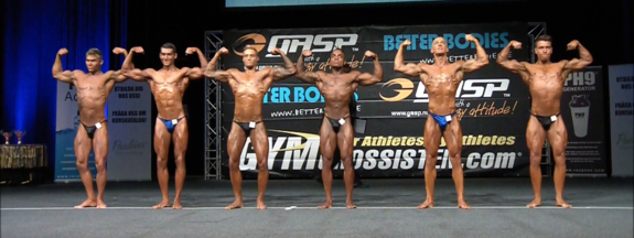 Video från LP 2013: Bodybuilding Herrar Juniorer -70 kg