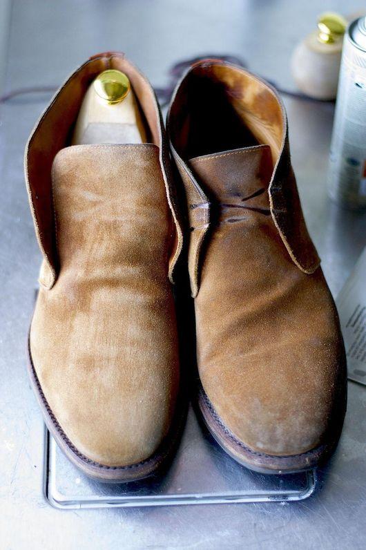 hur impregnerar man skor