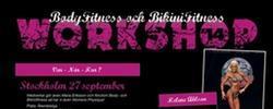 Bodyfitness- och Bikini Fitness-workshops under hösten