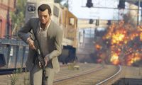 Grand Theft Auto V (Trailer: A Picket Fence and a Dog Named Skip)