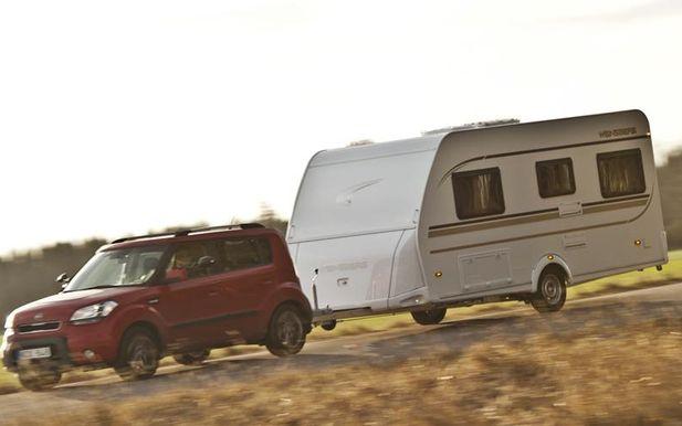 Tester av husbilar, husvagnar och dragbilar