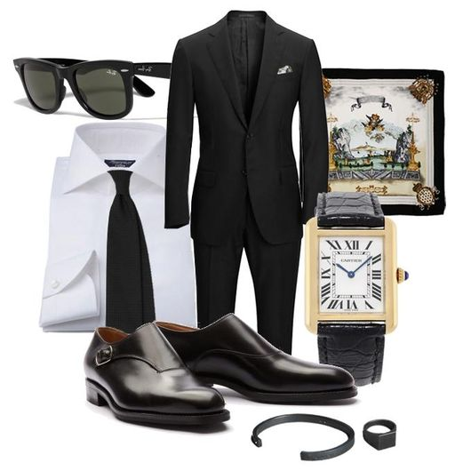 Fredagsinspiration - Den Svarta kostymen 31a43f7f25c38