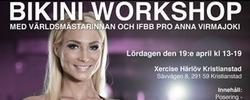Seminarium med Bikini Fitness-proffs i Kristianstad