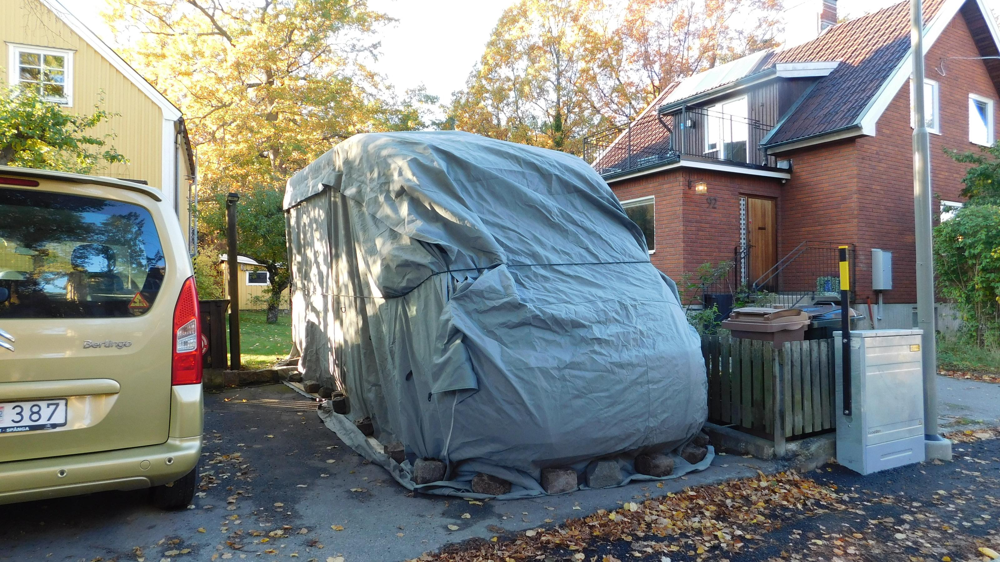 Icke gamla Vinteruppstälning , hur? - Husvagn & Camping BN-15