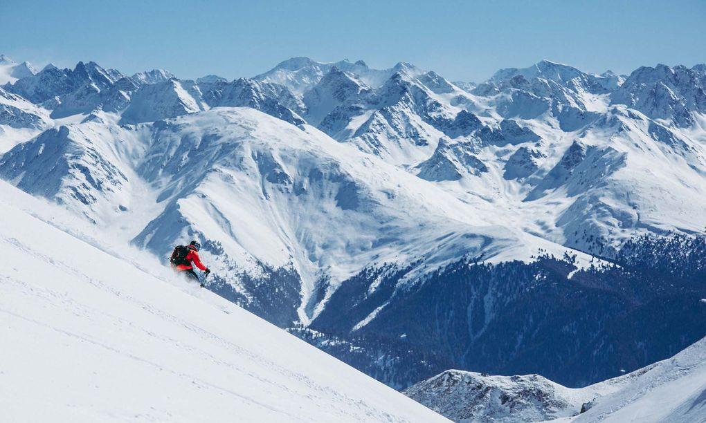 9 Hemliga Giganter I Alperna Aka Skidor