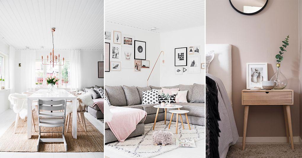 skandinavisk design Drömhemmet för dig som älskar ljusa färger och skandinavisk design  skandinavisk design