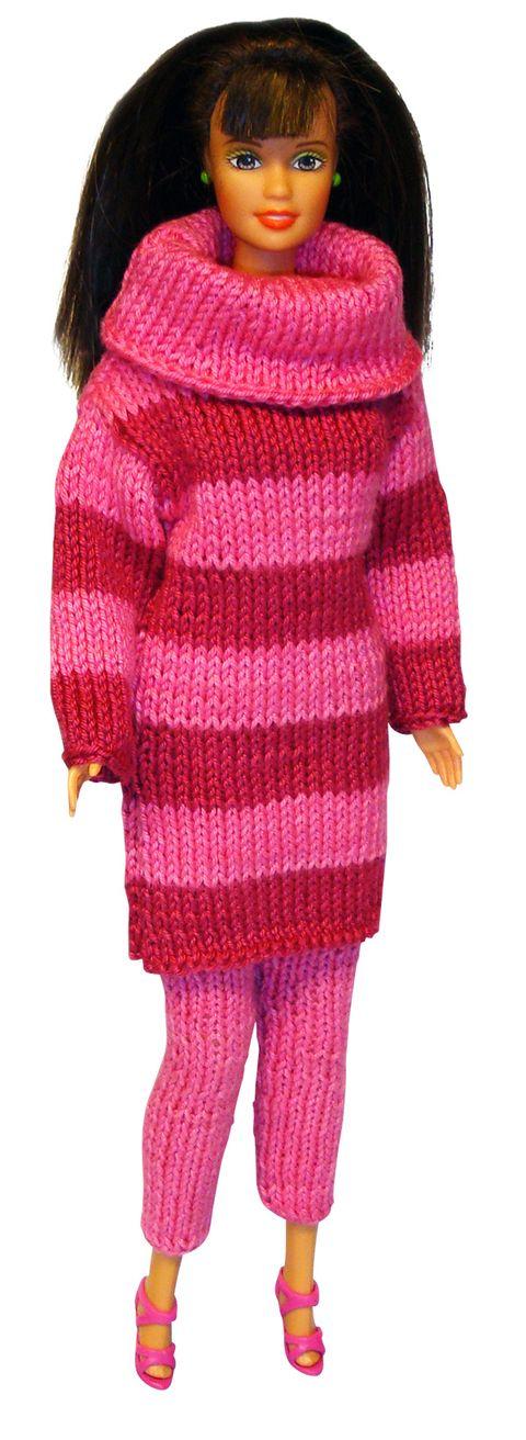 Sticka Barbies finaste favoritkläder! – Hemmets Journal