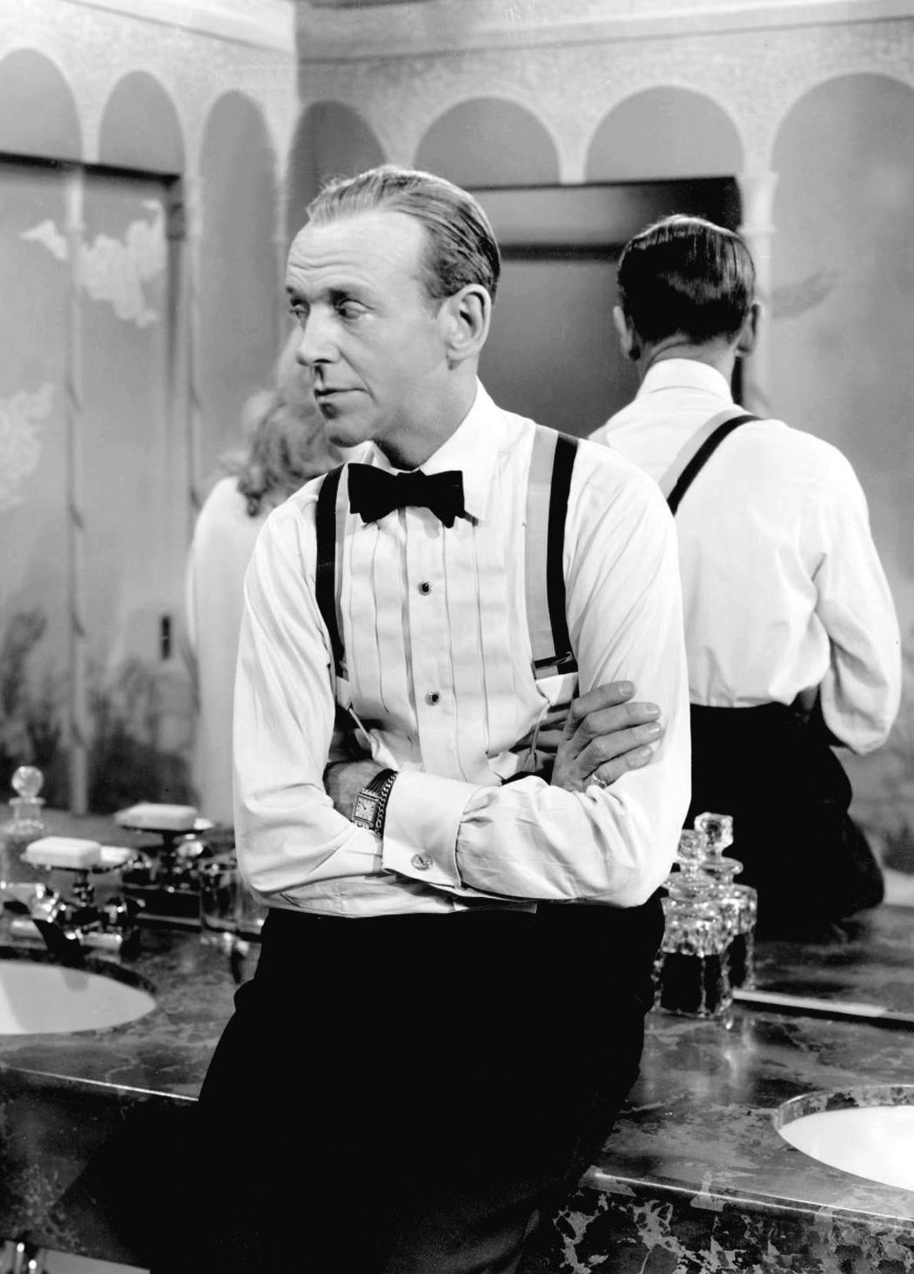 Fred Astaire var en annan tidig bärare av armbandsur till smoking. 7e2e73a4bf05b