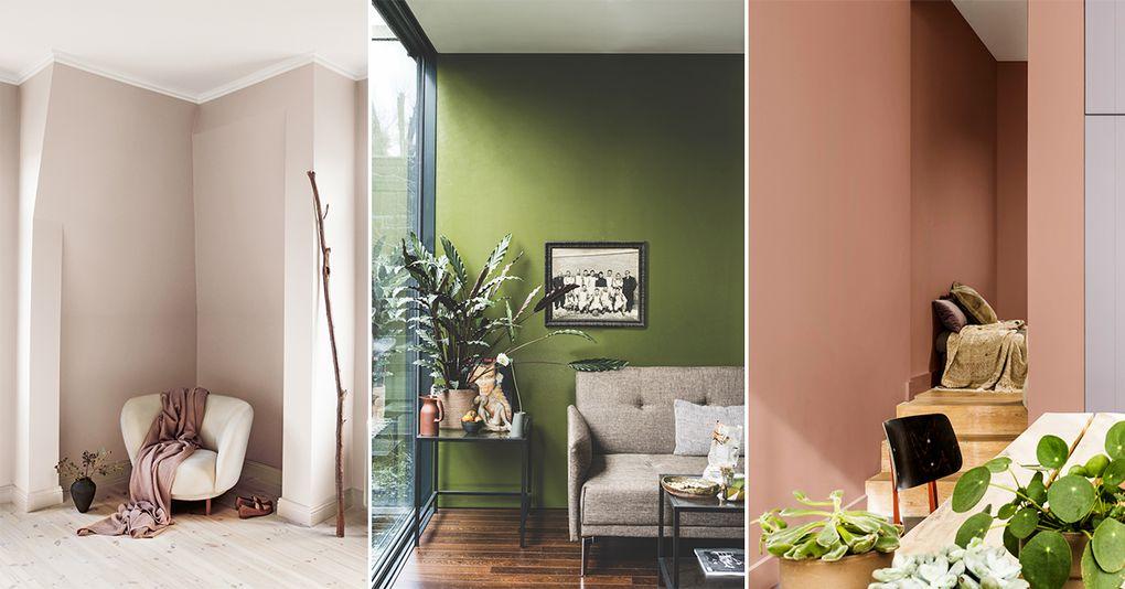 Höstens trendigaste väggfärger – Hus   Hem 33065e924c828