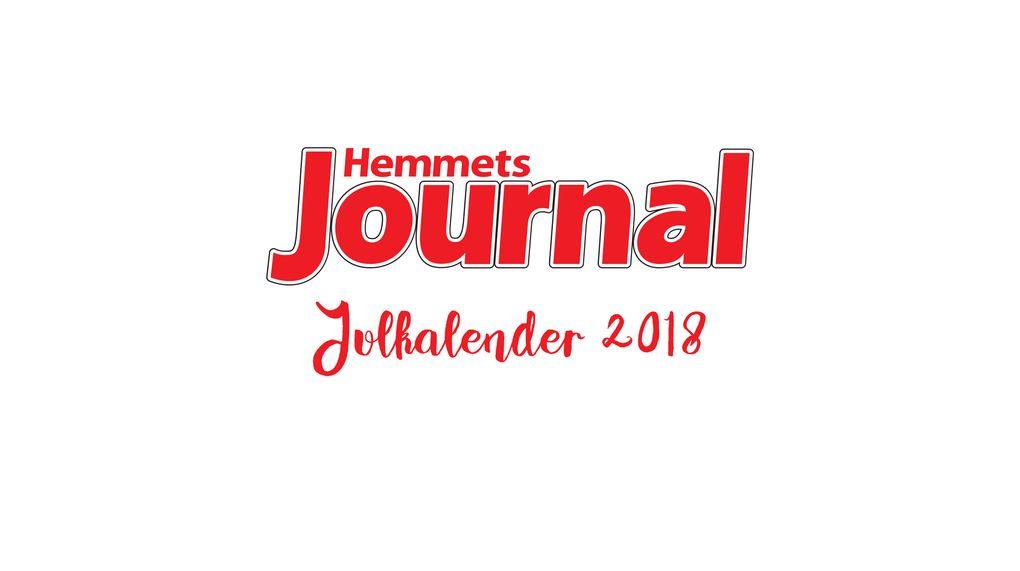 Hemmets Journals julkalender är snart här! - Hemmets Journal