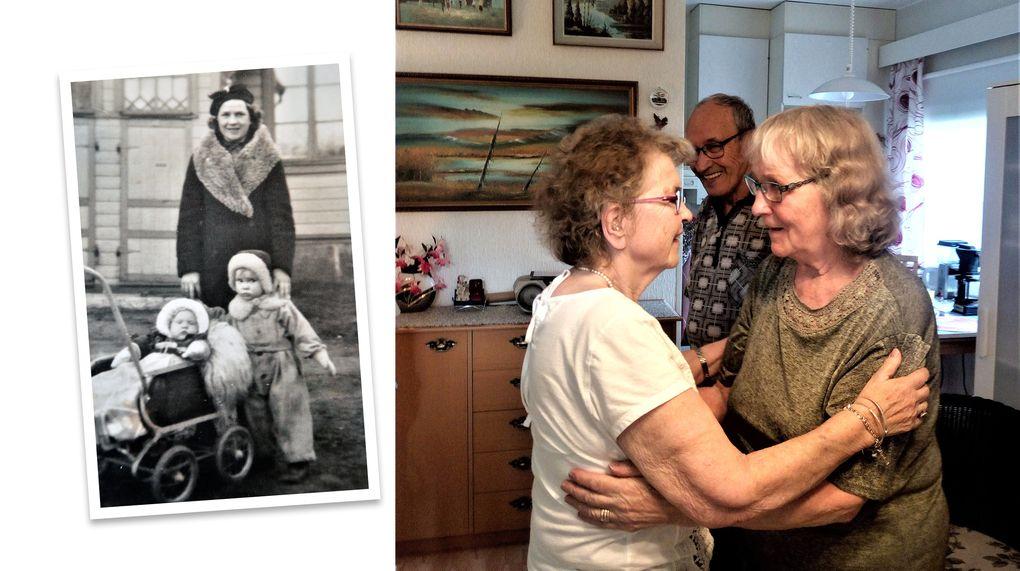 Systrar aterforenades efter 78 ar