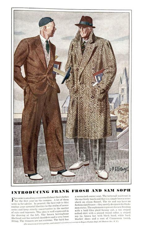 brand new 92641 13ca4 1930-talet rockar och kostymer visar på en tydlig motreaktion från den  nätta 10- och 20-talet.