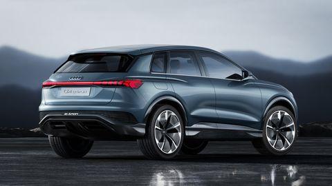 Audi Q4 E Tron Concept Kommer 2020 Med 45 Mil Rackvidd