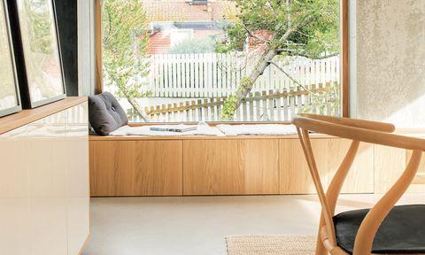 Nykomna Så här bygger du en sittbänk med förvaring vid fönstret – Hus & Hem AR-69