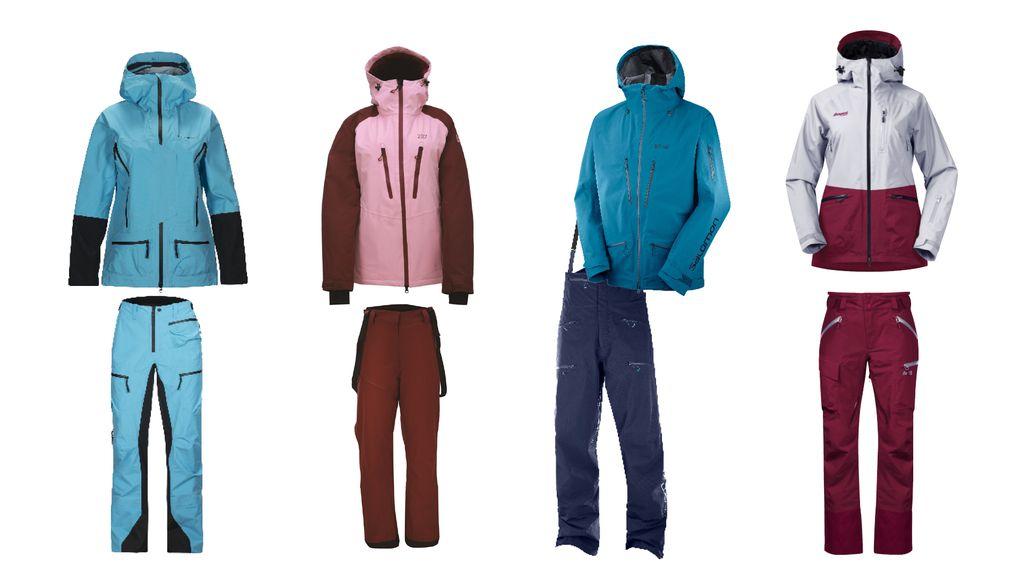 Rätt klädd 14 av vinterns bästa skalkläder – Åka Skidor