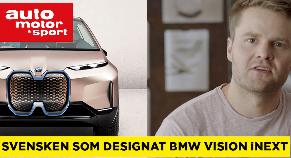 The Swede who designed the BMW Vision iNext